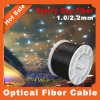 PE Blck Cable Plastic Optical Fiber de 1.0/2.2mm