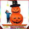 120cm Plastikhalloween Kürbis, aufblasbarer Kürbis Halloween