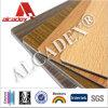 La madera de chapa de aluminio de 0,35 mm Bobina panel compuesto