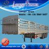 Rimorchio del bestiame della barra del deposito del fornitore della Cina