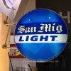 Vacío al aire libre del rectángulo ligero del LED formado encendiendo la muestra para hacer publicidad