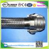 Mangueira trançada 4 do metal flexível do engranzamento de alta temperatura dos Ss 304