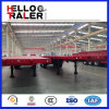 中国の半工場40FT平面の容器のキャリアのトレーラーの価格