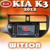 Witson coche DVD GPS para KIA K3/Rio 2012 (W2-D9583K)