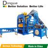 Qt4-15c Dongyue Automatic Concrete Brick Making Machine et Building Brick Molding Machine