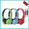 이동할 수 있는, 지능적인 전화 (VB-9336D)를 위한 마이크를 가진 다채로운 타전된 헤드폰