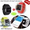 Wristband astuto di Bluetooth di forma fisica di salute con pressione sanguigna