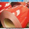 Le matériau PPGI de panneau sandwich a enduit la bobine d'une première couche de peinture en acier galvanisée enduite par couleur