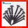 A boa qualidade C1022 multa a rosca parafuso fosfatado preto da gipsita