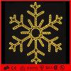 Decoración de la pared LED de Navidad Decoración 2D del adorno del copo de nieve