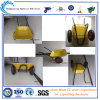 Doppeltes Wheels Construction Wheelbarrow Wb6407 mit Metal Galvanized Tray
