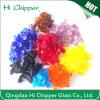 Hola gránulo de cristal coloreado terrazo Chipper