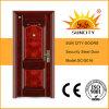 Puerta de hierro forjado inserciones de hierro fundido de la puerta del horno (SC-S016)