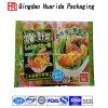Мешки упаковки еды изготовленный на заказ логоса цветастые пластичные