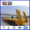 hydraulische Strichleiter 60t Tri-Welle niedriger Bett-halb Schlussteil