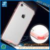 Caja elegante híbrida cristalina clara del teléfono para el iPhone 8