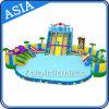 Parco gonfiabile dell'acqua di divertimenti acquatico Aqua Park per Beach