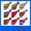 La relation étroite en soie tissée des hommes colorés de mode, cravate