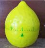 Material plástico del contador de tiempo del mecánico de la forma del limón