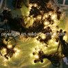 Luz de la cadena del bulbo de IP65 10m LED, luces de la Navidad al aire libre impermeables