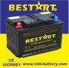 표준 57413 12V74ah DIN는 비용이 부과된 자동 건전지 차 저장 건전지를 말린다