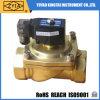 Válvula de solenóide de bronze normalmente fechada