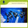 Bâche de protection de polyéthylène de couverture de camion avec la bâche de protection inoxidable de bois de charpente de clips D