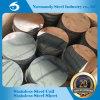 L'approvisionnement de moulin d'ASTM a laminé à froid le cercle de l'acier inoxydable 202