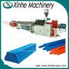 두 배 나사 PVC 2 구멍 밀어남 선 생산 라인 또는 플라스틱 기계장치