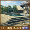 Decking extérieur composé augmenté par balcon de la piscine WPC