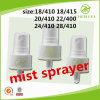 Pompa di plastica personalizzata dello spruzzatore della foschia 410 di colore 24 micro