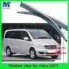 Acessórios de carro personalizados Car Rain Visor Sun Shade Visor para Benz Viano 2011