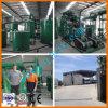 O petróleo de motor usado da destilação de vácuo recicl as refinarias de petróleo Waste do motor que recicl a máquina