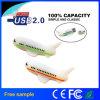 movimentação feita sob encomenda do flash do USB da forma do avião & dos aviões do PVC 3D