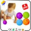安全および環境保護の子供の微笑の表面PUの表現のおもちゃの球