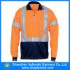 シンセンの働く衣服の長い袖の安全反射作業ユニフォーム