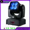 indicatore luminoso capo mobile del fascio della lavata di 4X15W RGBW 4in1 LED