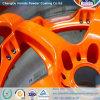 Enduit époxy orange à haute brillance de poudre de polyester