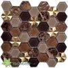 Mosaico del reticolo delle mattonelle della parete della priorità bassa (TG-OWD-559)