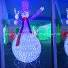 2017の最も新しいクリスマス屋外LEDの装飾のスノーマンライト