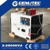 Lucht Gekoelde 15HP Diesel van de Motor Stille Generator 6kw (DG8500SE)