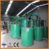 Desechos negros usados Usina de reciclaje de aceite de motor a través de la destilación al vacío