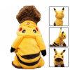 Costume chaud de crabot de Pikachu Veille de la toussaint d'accessoires d'animal familier