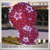 2017 휴일 훈장 빨간 공 빛 3D 백색 거는 크리스마스 불빛