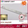 Luz de tira 12V DC aluminio SMD LED con sensor IR en el Gabinete