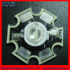 Hoge Power Sign Yellow LED 589592nm met PCB Star (hh-1wp2cy13-t)