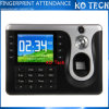 3.2 impressão digital biométrica da polegada TFT & de cartão de RFID comparecimento Ko-C101 do tempo
