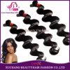 Выдвижение оптовых дешевых волос объемной волны выдвижения человеческих волос Remy девственницы Peruvian верхнего качества 100% естественных Weft соткет черноту (BHF-LBB1240)