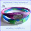 Vigilanza di mescolamento dello ione del braccialetto della gomma di silicone di colore (SW0403)