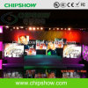 Chpishow 실내 풀 컬러 P8 발광 다이오드 표시 단계 LED 스크린